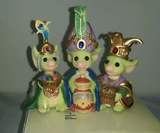 Whimsical World Of Pocket Dragons Wee Three Kings Real Musgrave box,cert,LIMITED