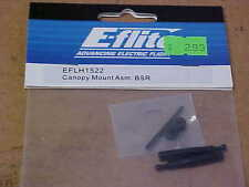 E-FLITE HELICOPTER PART - EFLH1522 = CANOPY MOUNT ASSEMBLY : BSR (NEW)