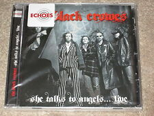 THE BLACK CROWES - SHE TALKS TO ANGELS LIVE - NEW CD