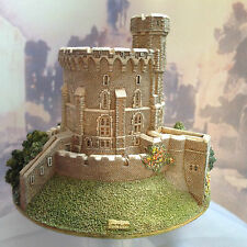Lilliput Lane Round Tower Windsor Castle cw Orig Box & Deeds - VGC