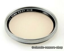 B+W Skylightfilter KR1,5 1,1x FILTER SKYLIGHT 49mm M49 Schraubfassung (O2288