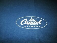 CAPITOL RECORDS PROMO TEE SHIRT 90S BEATLES LP XL UNWORN