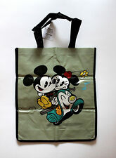 Mickey Mouse and Minnie Mouse on a Vespa New TV Cartoon Series Tote Reusable Bag