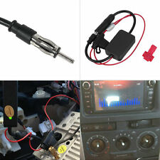 12V ANT-208 Car Automobile FM Antenna Radio Signal Booster Amplifier Amp UL