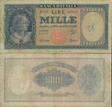 """1.000 lire  25/09/1961  """"Ornata di perle"""""""
