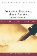 Early Black British Writing (New Riverside Editions)