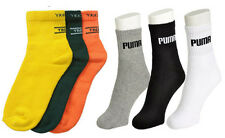 Combo Of 6 Pairs Ankle Socks - 3 PU. + 3 JK. Color