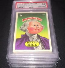 1985 Topps Garbage Pail Kids 2nd Series Psa Mint 9 Glossy Lot of (8) Cards