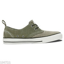 CONVERSE ALL STAR MENS OLIVE CHAMBRAY DENIM TRAINERS BNIB UK 11 EU 45