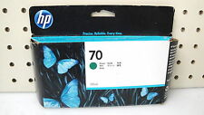 HP 70 GREEN INK CARTRIDGE FOR HP Z3100/Z3200 SEALED BOX/GENUINE  DATED 11/2013