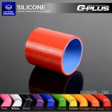 "2 3/8"" 60mm Silicone Straight Hose coupler Turbo Intercooler Pipe Hoses Red"