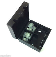BT16A EXTERNAL CONNECTION CABLE JOINT BOX IN BLACK WITH 8x 2 WIRE JELLY CRIMPS