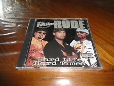 Mr. Mike RUDE and the Gulf Coast Wise Guys - Hard Life Hard Times Rap CD - 2001