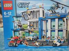 LEGO n° 60047- LE COMMISSARIAT DE POLICE NEUF- TRES COMPLET A SAISIR !!! 7/12ANS
