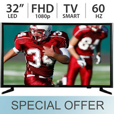"SAMSUNG 32"" Inch Smart LED LCD TV 1080p FULL HD 60Hz Wi-Fi - UN32J525D"