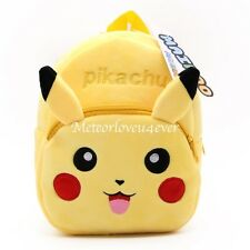 Japan Anime Cute Cartoon School Shoulder Bag Kawaii Backpack Plush Bag - Pikachu