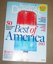 Readers Digest Magazine (July, 2013),  English, Back Issue