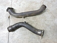 03 Aprilia RSV1000 RSV 1000 Mille muffler pipe exhaust headers front rear