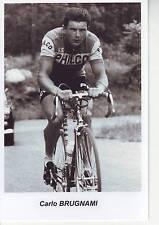 CYCLISME repro PHOTO cycliste CARLO BRUGNAMI  éditions coups de pédales