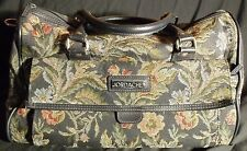 Retro Vintage Jordache Tapestry Travel Shoulder Duffle Carry-on Overnight Bag