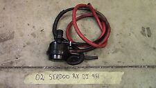02 SEADOO RX DI 951 EXHAUST NOISE REDUCER SILENCER 270000482
