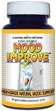 MOOD IMPROVE Enhancer Support antidepressant Supplement Anxiety disorder Cure 30