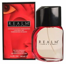 Men REALM by Erox Corp Cologne for Men 3.4 oz 100 ml  New in Box Sealed
