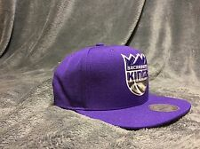 Sacramento Kings Royal Purple Retro Mitchell And Ness Snapback