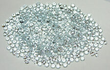 3mm Natural Brazil Aquamarine Brilliant Round Cut