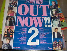 2 LP 28 HOT HITS OUT NOW 2 DIRE STRAITS BRYAN FERRY BILLY IDOL N. KERSHAW N/MINT