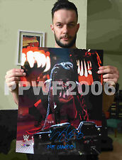 WWE FINN BALOR HAND SIGNED AUTOGRAPHED 16X20 PHOTO FILE PHOTO WITH PROOF 5