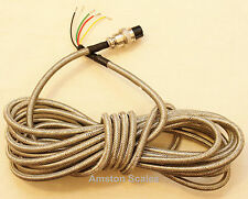 HOME RUN SCALE LOAD CELL INTERFACE CABLE STEEL SHIELD 19 FEET INDICATOR JUNCTION