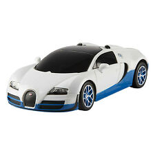 Rastar 1/24 Scale White Bugatti Veyron 16.4 Grand Sport Vitesse Licensed RC Mod