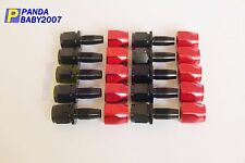 AN6(JIC-6) -6 AN STRAIGHT FUEL/ OIL/GAS LINE HOSE END MALE FITTING 10PCS BR