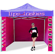 Printed Heavy Duty Gazebo Catering Trailer Aluminium 40mm leg Pop Up Event Tent