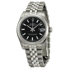 Rolex Datejust Black Dial Automatic Stainless steel Ladies Watch 178240BKSJ
