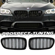 PT Kidney Sport Grille For BMW F10 F11 5 Series Gloss Black Performance M M5