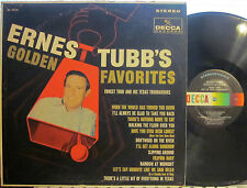 Ernest Tubb - Ernest Tubb's Golden Favorites  (Decca 74118) Walking the Floor...