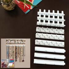 9pcs Collier pendentif Bijoux Bibliothèque multimédia rack Suspendre Crochet EH