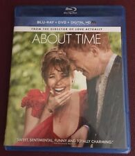 About Time (Blu-ray Disc, 2014, 2-Disc Set) Brand New, Watched Once McAdams