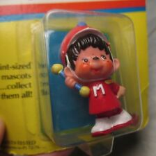Vintage 1981 Bandmaster MONCHHICHI COLLECTIBLE DOLL Figure mattel #5076 orig box