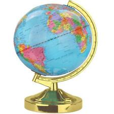 LAITON POLI GLOBE TERRESTRE TOUCHE LAMPE DE TABLE FANTAISIE CARTE TERRE ATLAS