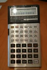 VINTAGE CASIO FX-4000P SCIENTIFIC CALCULATOR PROGRAMMABLE WITH ORIGINAL