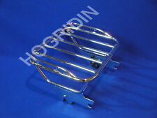 Harley touring quick release detachable luggage rack electra glide road king