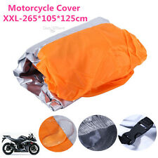 XXL Waterproof Motorcycle Cover For Yamaha Honda Kawsaki Suzuki Cruisers DOT