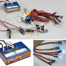 RC LED Lighting System Kit Brake Headlight Signal Light Truck Car (x12 4W4R4Y)