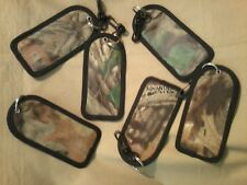 Camouflage Luggage Tag, Advantage Timber, American Outdoorsman, NEW, Made in USA