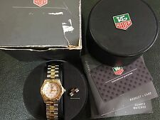 TAG Heuer 2000 Classic lady's watch WK1320 - steel & gold plated - working