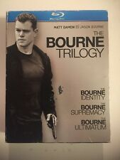 The Bourne Trilogy (Blu-ray Disc, 2010, 3-Disc Set)Complete Fast Free Ship!
