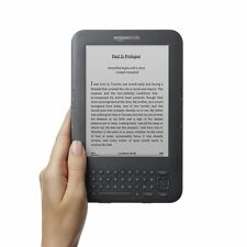 Amazon Kindle Keyboard 3rd Gen 4GB, Wi-Fi, 6in - Graphite - LOCKED